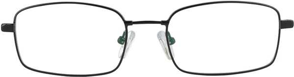 Prescription Glasses Model FX28-BLACK-FRONT