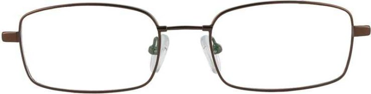 Prescription Glasses Model FX28-COFFE-FRONT