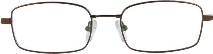 Prescription Glasses Model FX28-COFFE-FRONT