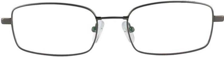 Prescription Glasses Model FX28-GUNETAL-FRONT