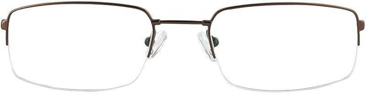 Prescription Glasses Model FX29-COFFE-FRONT