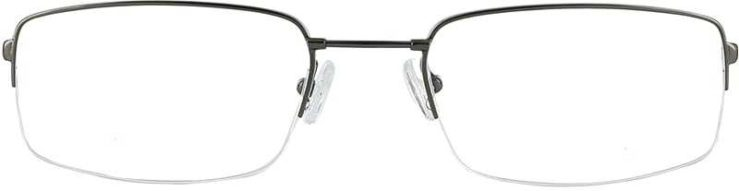 Prescription Glasses Model FX29-GUNMETAL-FRONT