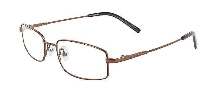 Prescription Glasses Model FX30-COFFEE-45