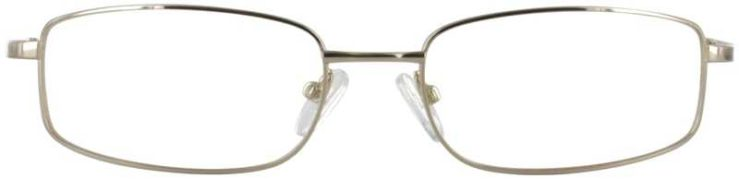 Prescription Glasses Model FX30-GOLD-FRONT