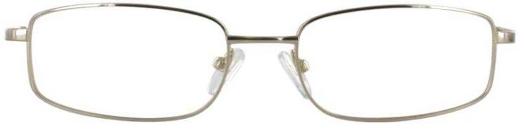 Prescription Glasses Model FX30-GOLD-FRONT