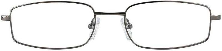 Prescription Glasses Model FX30-GUNMETAL-FRONT