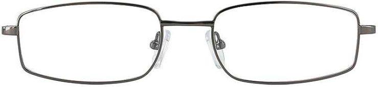 Prescription Glasses Model FX30-GUNMETAL-FRONT