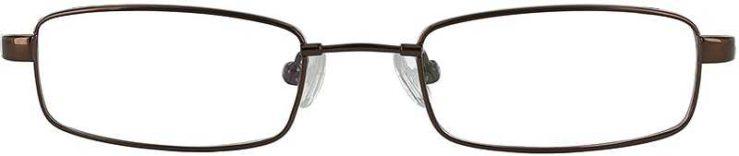 Prescription Glasses Model FX33-COFFEE-FRONT