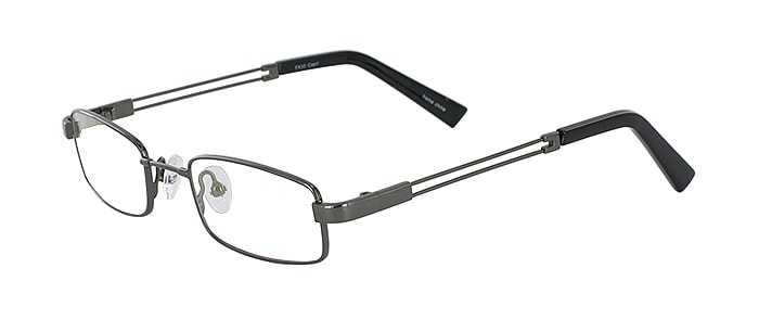 Prescription Glasses Model FX33-GUNMETAL-45