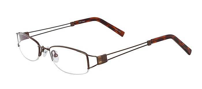 Prescription Glasses Model FX34-COFFEE-45