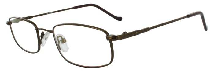 Prescription Glasses Model FX4-COFFEE-45