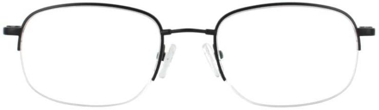 Prescription Glasses Model FX6-BLACK-FRONT
