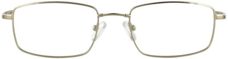 Prescription Glasses Model FX8-GOLD-FRONT