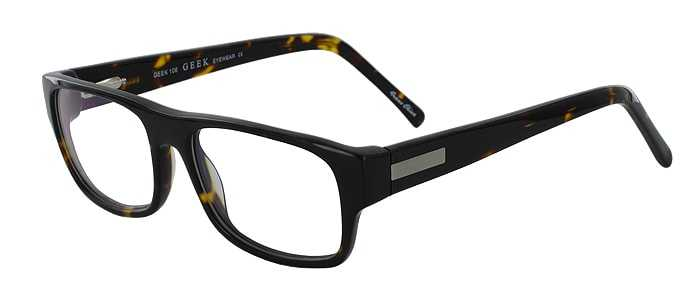 Prescription Glasses Model GEEK106-TORTOISE-45