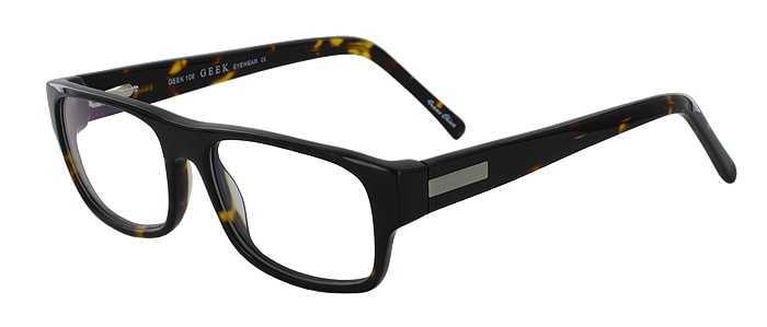 Prescription Glasses Model GEEK106-TORTOISE-45