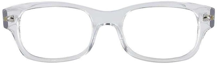 Prescription Glasses Model GEEK111-CLEAR-FRONT
