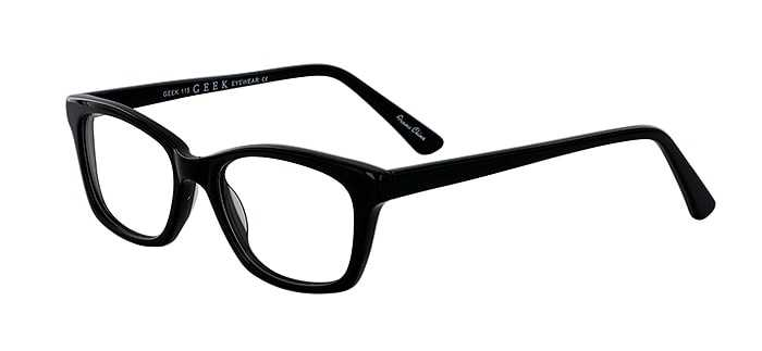 Prescription Glasses Model GEEK115-BLACK-45