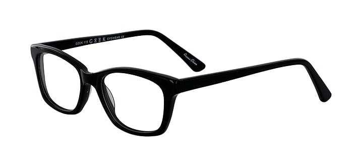 Prescription Glasses Model GEEK115-BLACK-45
