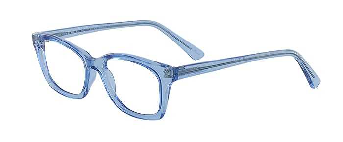 Prescription Glasses Model GEEK115-BLUE-45
