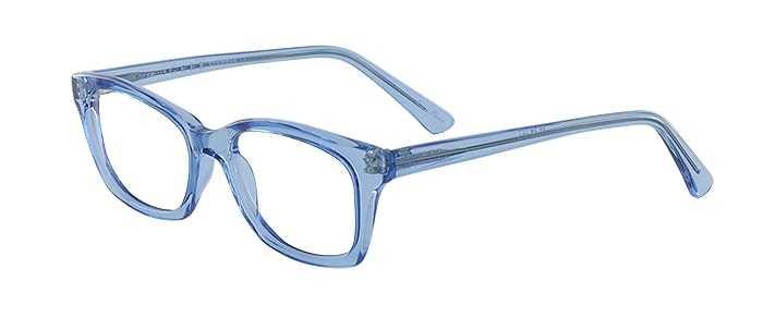 Prescription Glasses Model GEEK115-BLUE-45