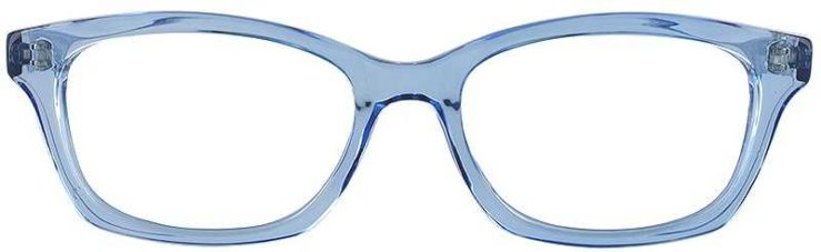 Prescription Glasses Model GEEK115-BLUE-FRONT