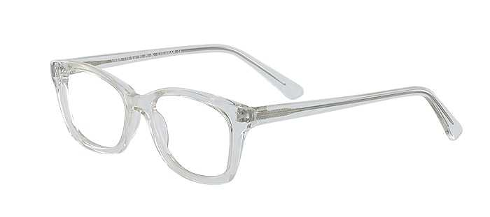 Prescription Glasses Model GEEK115-CLEAR-45