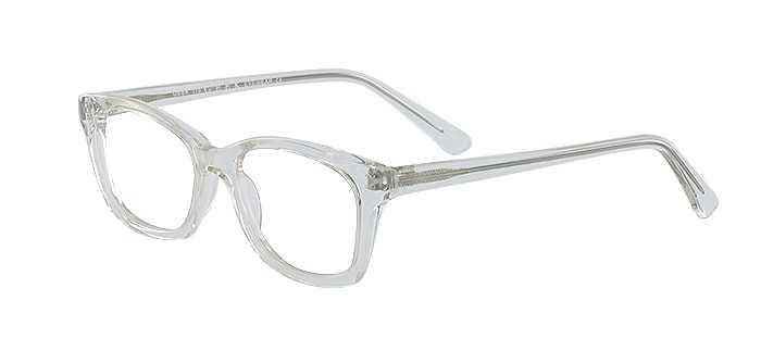Prescription Glasses Model GEEK115-CLEAR-45