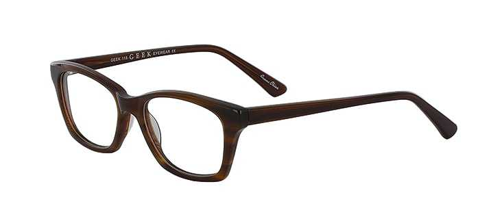 Prescription Glasses Model GEEK115-HONEY-45