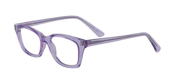 Prescription Glasses Model GEEK115-VIOLET-45
