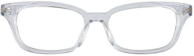 Prescription Glasses Model GEEK119L-CLEAR-FRONT