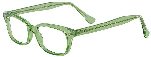 Prescription Glasses Model GEEK119L-LIME-45