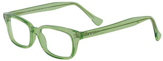 Prescription Glasses Model GEEK119L-LIME-45