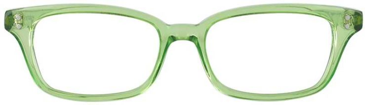 Prescription Glasses Model GEEK119L-LIME-FRONT