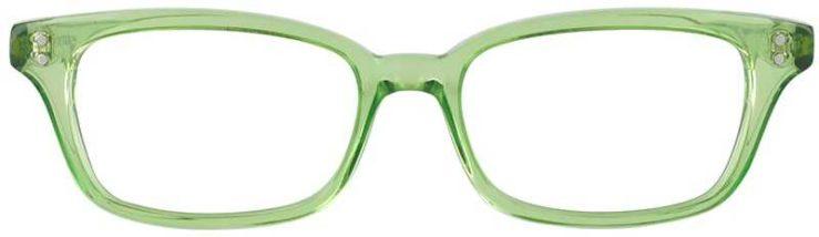 Prescription Glasses Model GEEK119L-LIME-FRONT