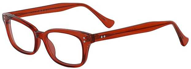 Prescription Glasses Model GEEK119L-RED-45