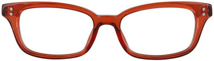 Prescription Glasses Model GEEK119L-RED-FRONT