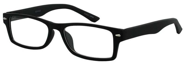 Prescription Glasses Model GENIUS-BLACK-45
