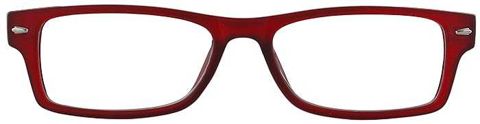 Prescription Glasses Model GENIUS-BURGUNDY-FRONT