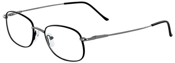 Prescription Glasses Model GOLDEN-BLACK-45