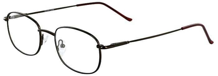 Prescription Glasses Model GOLDEN-COFFEE-45