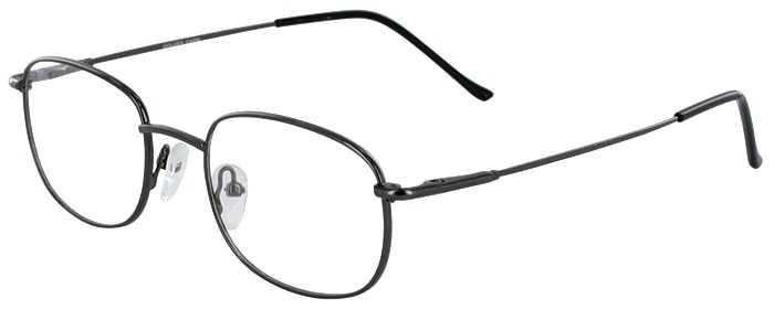 Prescription Glasses Model GOLDEN-GUNMETAL-45