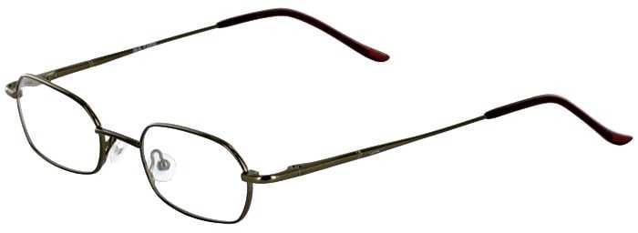 Prescription Glasses Model IRIS-BROWN-45