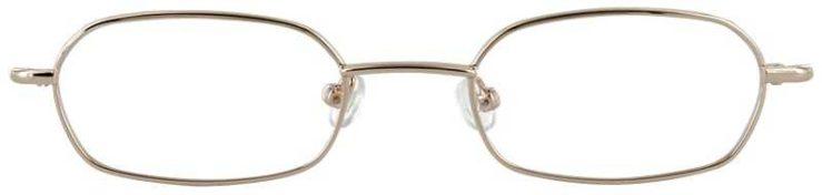 Prescription Glasses Model IRIS-GOLD-FRONT
