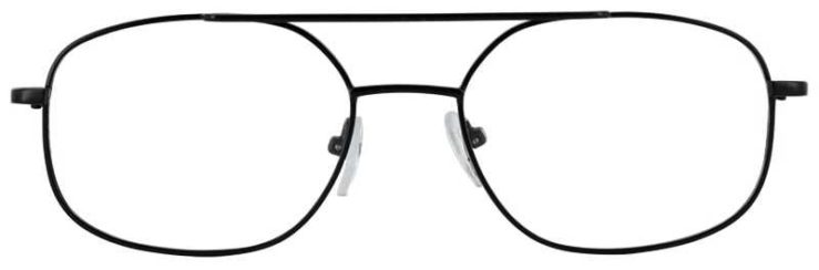 Prescription Glasses Model IVY-BLACK-FRONT