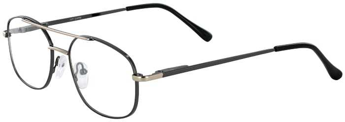 Prescription Glasses Model IVY-GUNMETAL-45