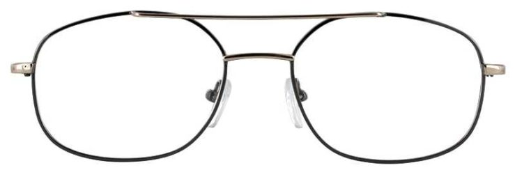 Prescription Glasses Model IVY-GUNMETAL-FRONT