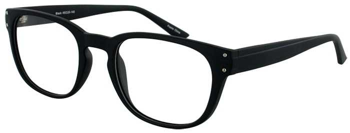 Prescription Glasses Model JASON-BLACK-45