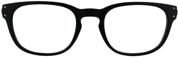 Prescription Glasses Model JASON-BLACK-FRONT