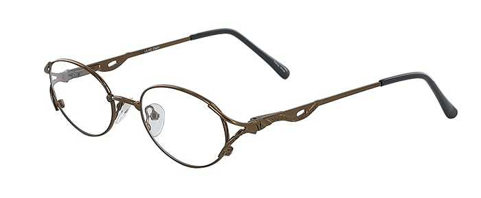 Prescription Glasses Model LILAC-COFFEE-45