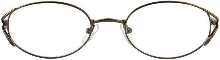 Prescription Glasses Model LILAC-COFFEE-FRONT